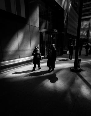 Sidewalk Shadows #1
